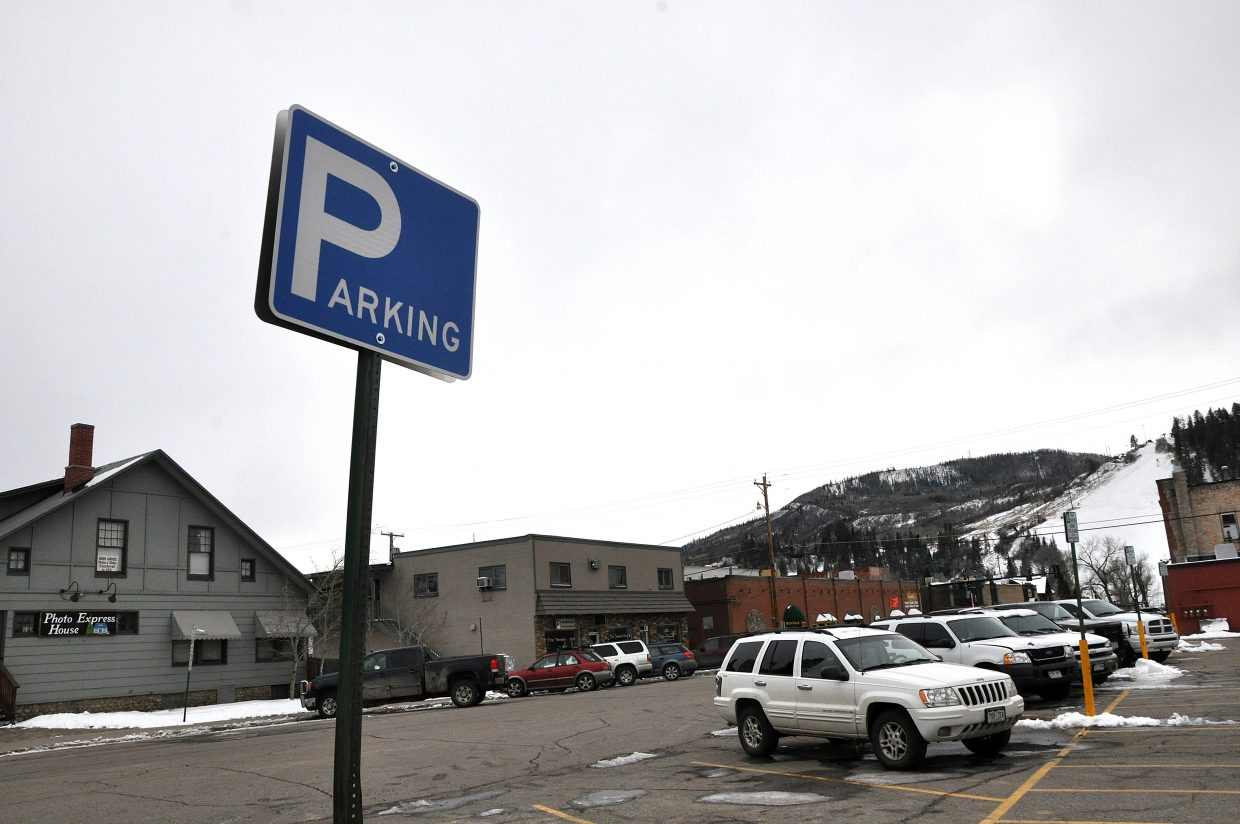 The parking time limit in a lot at Eighth and Oak streets recently was increased from two hours to eight hours.