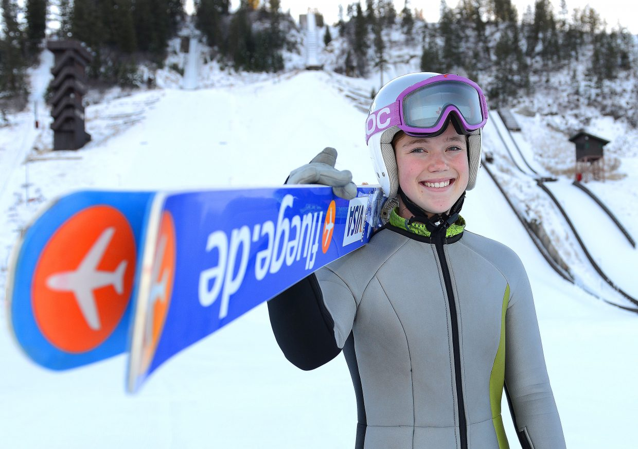 Steamboat ski jumper Logan Sankey was named to the U.S. Women's Ski Jumping team this week, capping a huge change for the skier who until a season ago was far more focused on alpine ski racing than ski jumping.