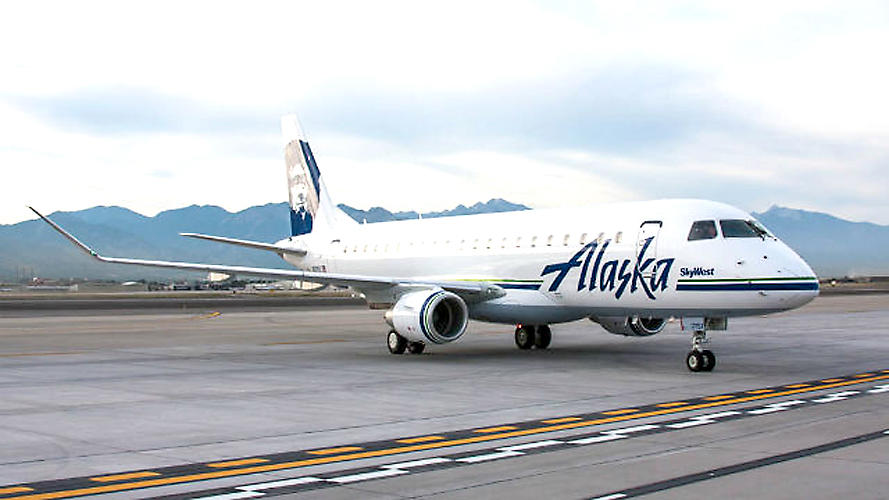 The inaugural flight from San Diego to Yampa Valley Regional Airport on a 76-passenger Alaska Airlines Embraer 175 is due to arrive at 1:07 p.m., Dec. 17. The roundtrip flights operate twice weekly on Wednesdays and Saturdays during ski season.