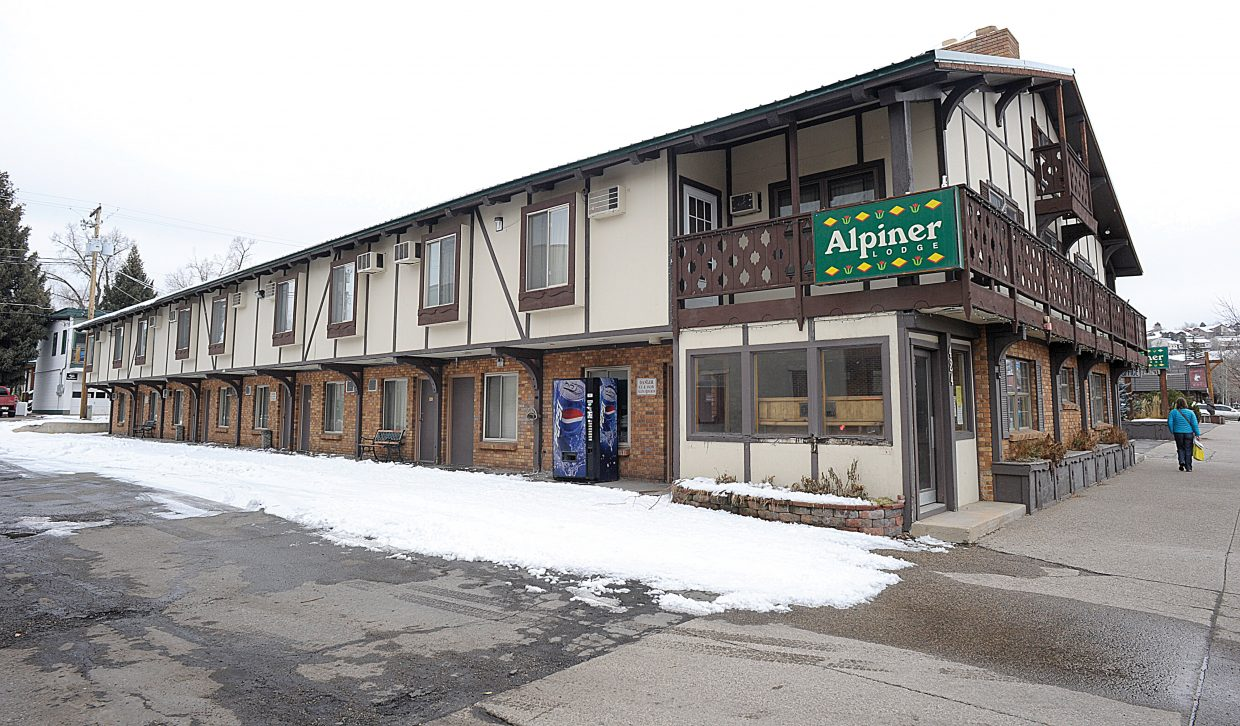 The Alpiner Lodge on Lincoln Avenue in downtown Steamboat Springs is closed for the immediate future as its owners re-evaluate their plan for the property.