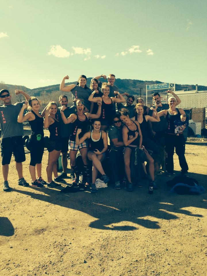 CrossFit Steamboat team competing a few weeks ago! Submitted by Sarah Coleman.