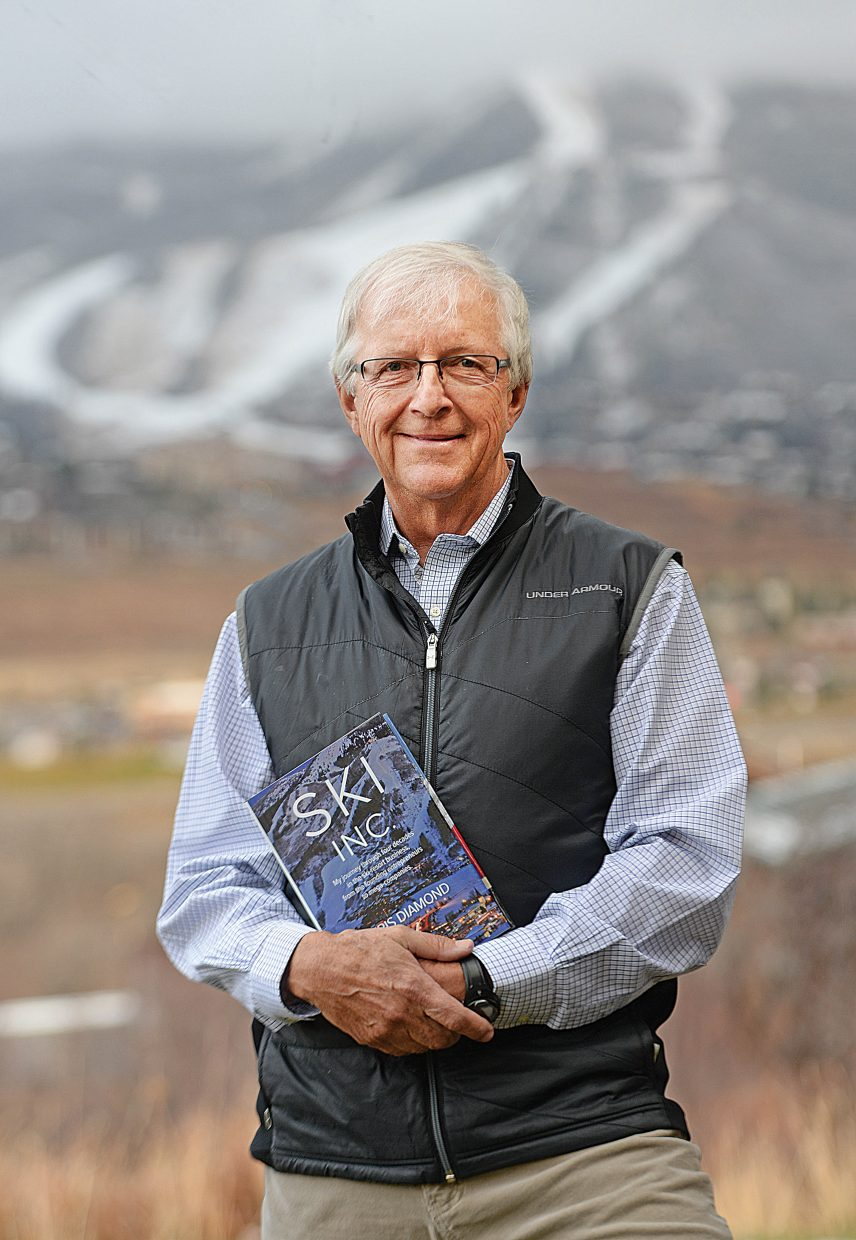 """Author Chris Diamond's """"Ski Inc."""" is an engaging account of the rise of the modern ski resort indusry that doesn't pull punches but also honors the people who nourished it."""