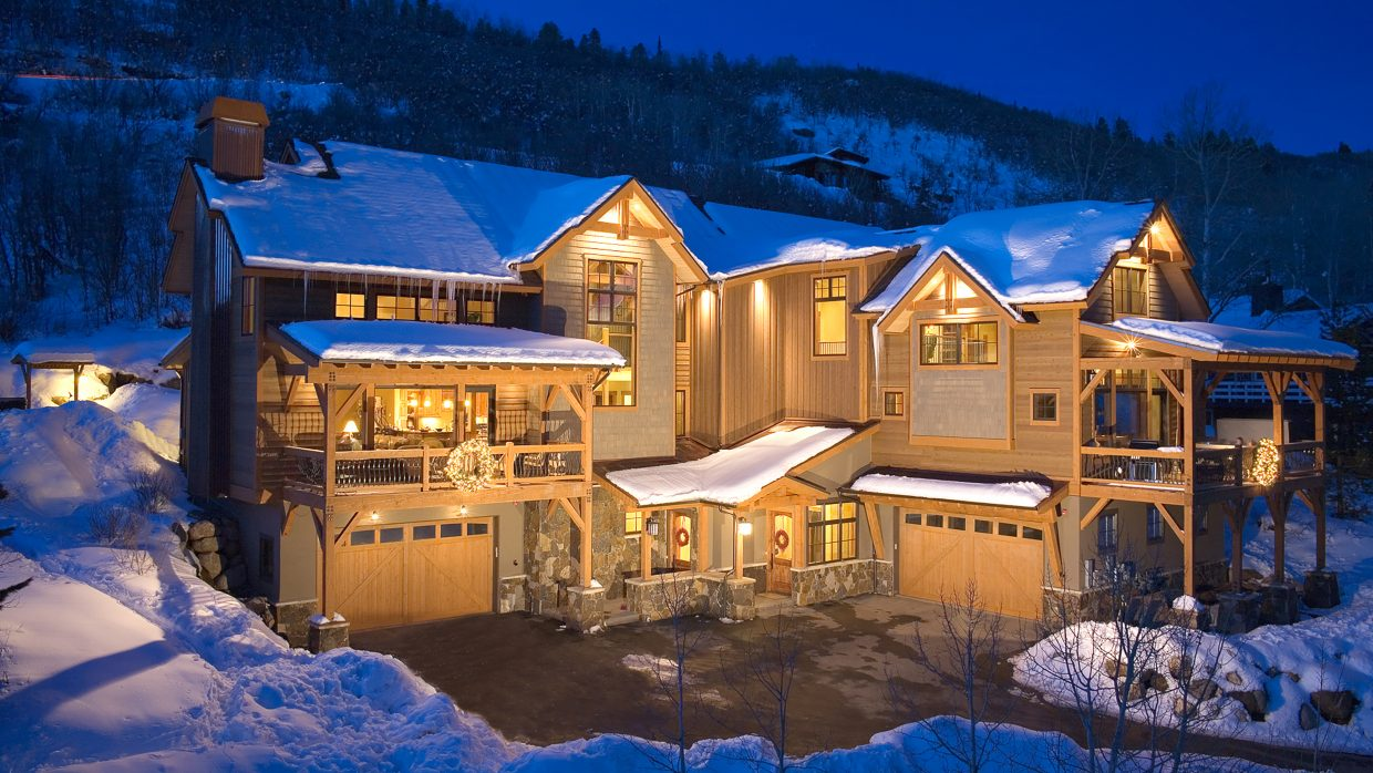 The 4,100-square-foot Brown Bear Chalet on Burgess Creek Road is about a half-mile walk from the base of the the Thunderhead Lift at Steamboat Ski Area. The property, listed by Steamboat Sotheby's International Realty broker Pam Vanatta earlier this year, was priced at $1,495,000 and a sale is currently pending.