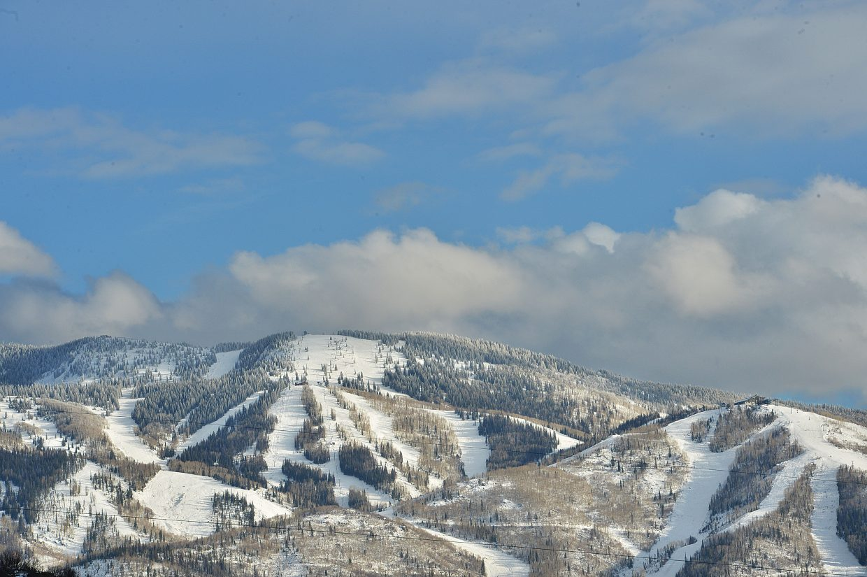 Skiers will enjoy more terrain at the Steamboat Ski Area this weekend as more lifts and more runs are opened for the season.
