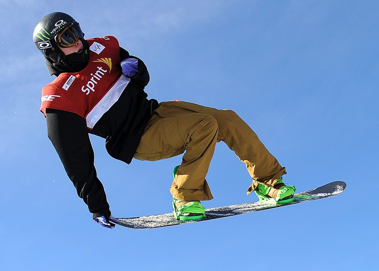 Taylor Gold spins through a 1260 on Saturday during his winning run at the U.S. Grand Prix half-pipe event at Copper Mountain. Gold overcame a rough summer, slowed by a broken ankle, to win the event and set the stage for big events to come.