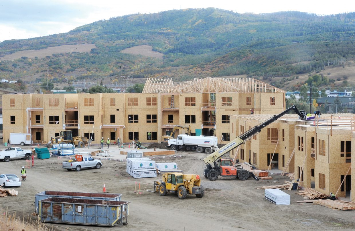 Steamboat Springs City Council and the Routt County Board of Commissioners will hear the report of the Housing Steering Committee, which is seeking to stimulate the creation of new community housing, on Dec. 13.