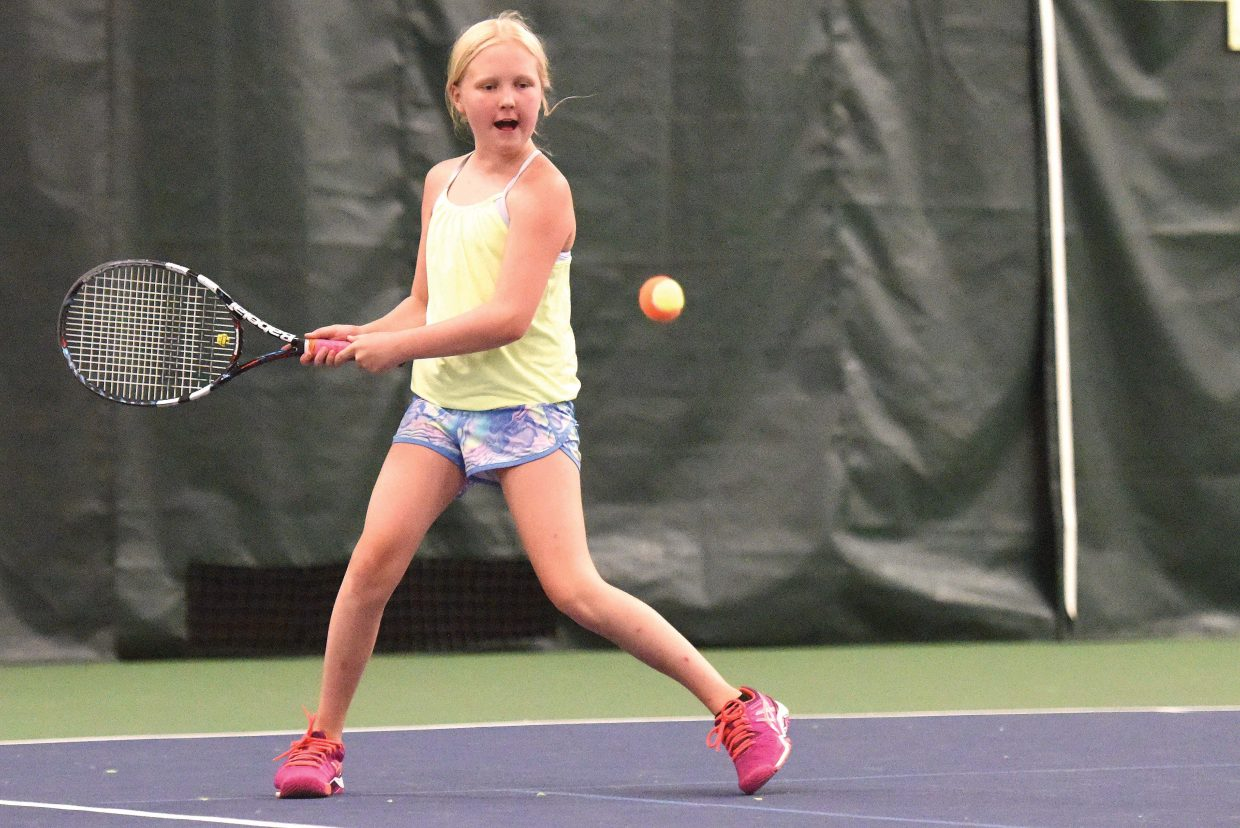 "The Steamboat Tennis Association will offer ""Taste of Tennis"" holiday camp Dec. 27 and 28 with hopes of introducing young players to the game of tennis. The event is one of several that will be offered at the Tennis Center at Steamboat Spring over the holidays."