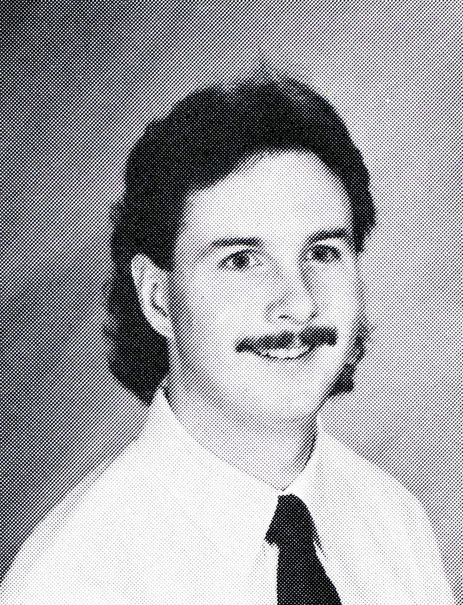 Tracy Murphy taught eighth-grade social studies at Craig Middle School from 1990 to 1993. This is a yearbook photo taken in 1991.