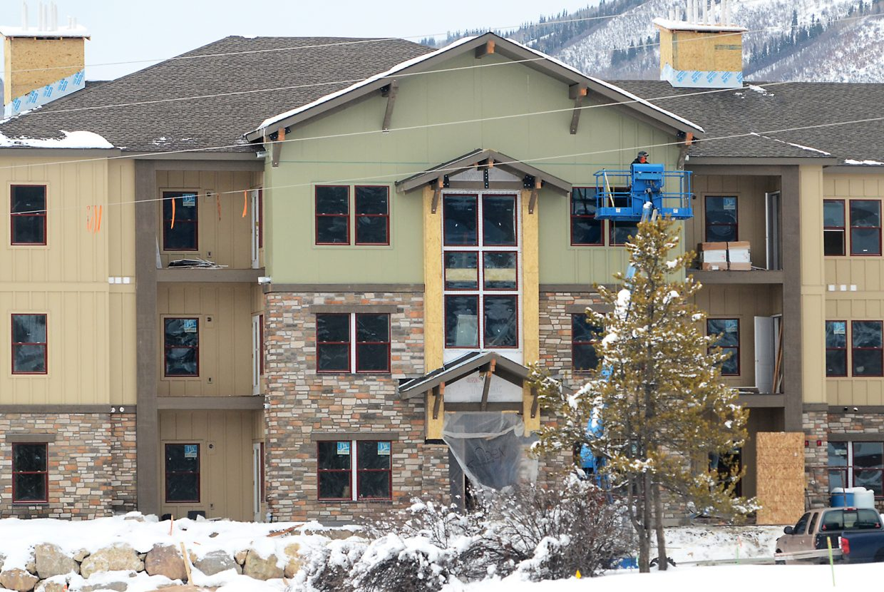 The Yampa Valley Housing Authority is asking voters within its district to approve a 1 mill property tax increase to leverage construction of new affordable housing projects like the 48 apartments in The Reserves in Steamboat.