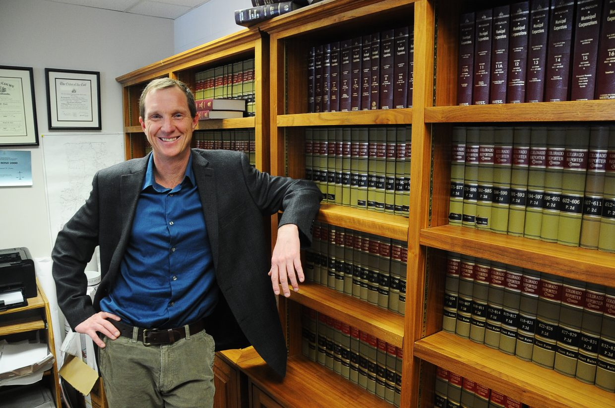 Dan Foote has worked as the city of Steamboat's staff attorney and assistant city attorney for 17 years. He earned his law degree from the University of Oregon, where he graduated with a GPA that ranked sixth out of his class of 112.