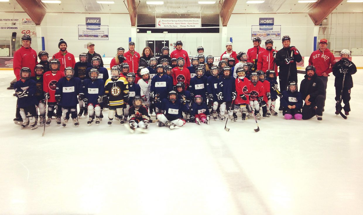 The Steamboat Youth Hockey Association graduated 52 young skaters from its Intro to Hockey program, a free eight-week course it offered for the first time this year.