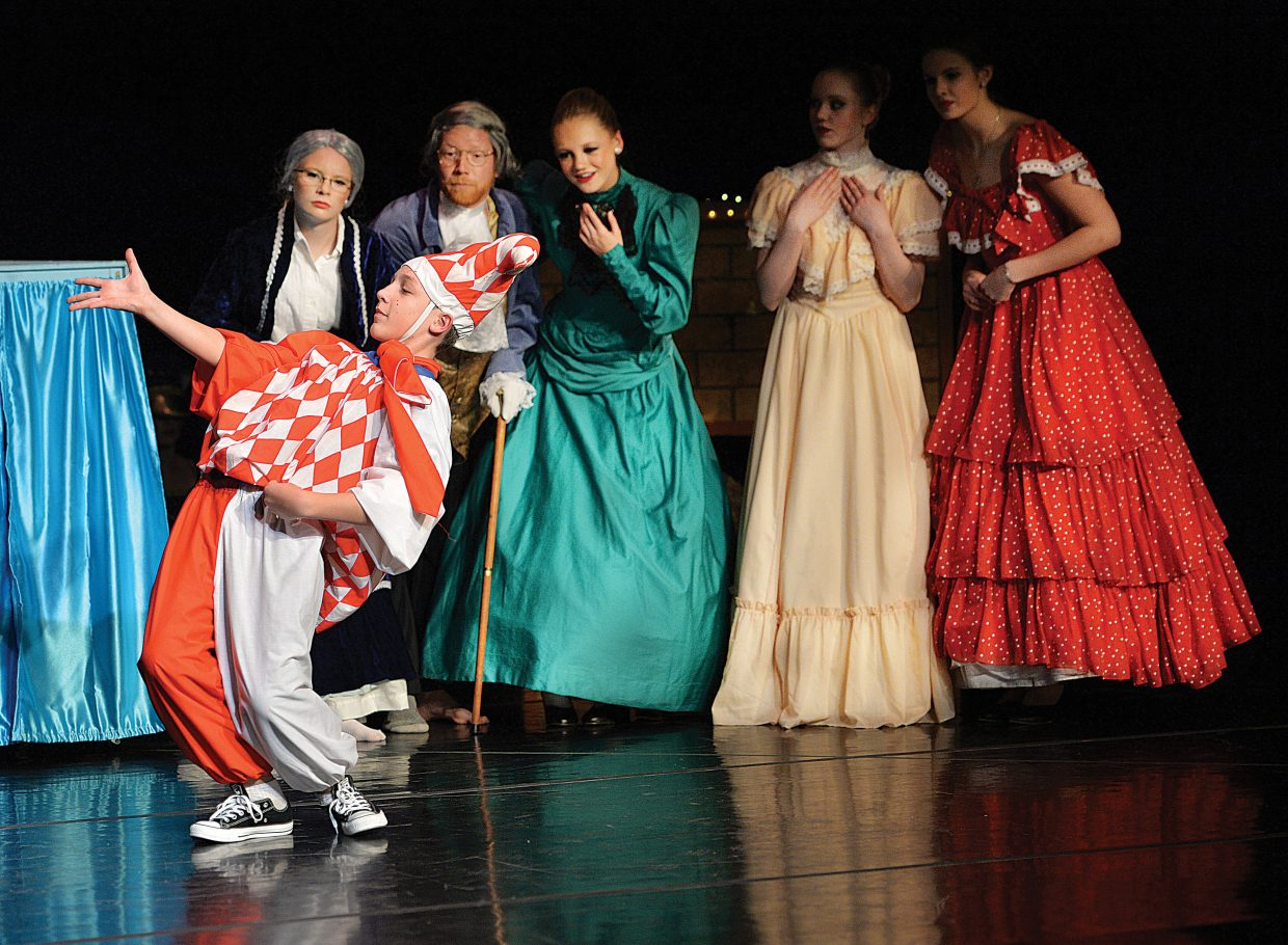 "Tim Lee dances in Elevation Dance Studio's production of ""The Nutcracker. The show will host performances at 6 p.m. on Friday and Saturday evenings in the Steamboat Springs High School auditorium."