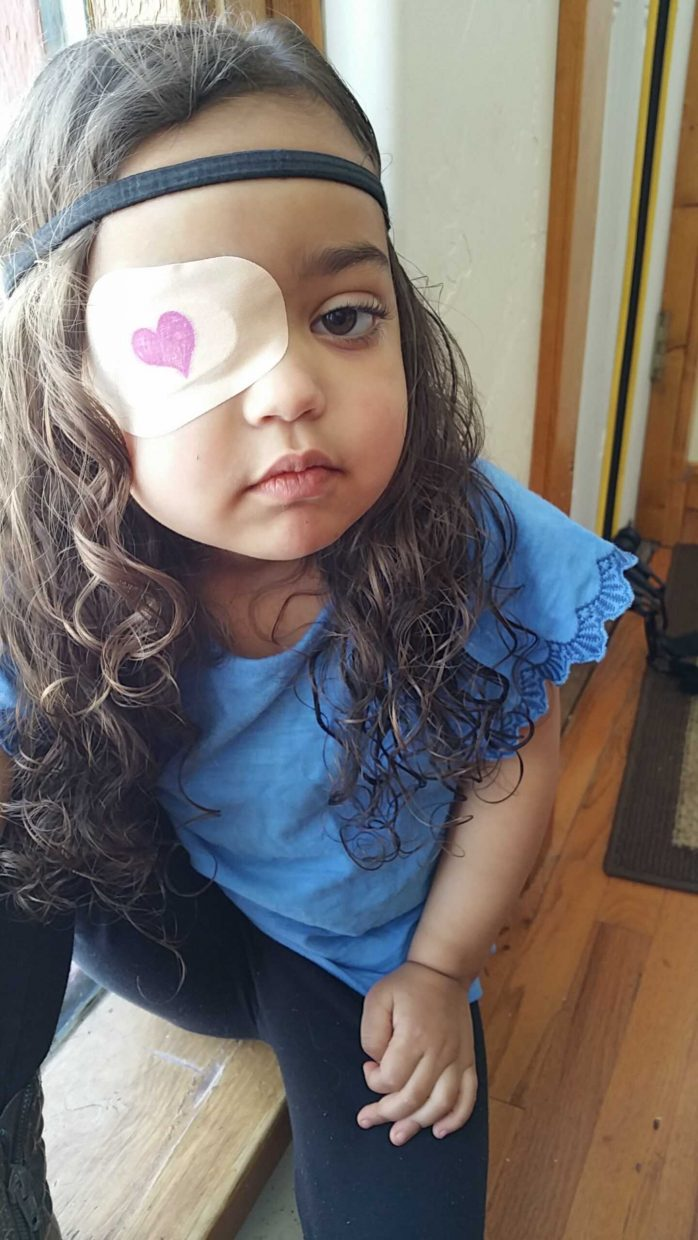 Four-year-old Skylar Sullivan of Oak Creek has struggled with Uveitis in her left eye since she was 2. Family and friends are now banding together to raise money for her family, who has racked up as much as $100,000 in medical bills.
