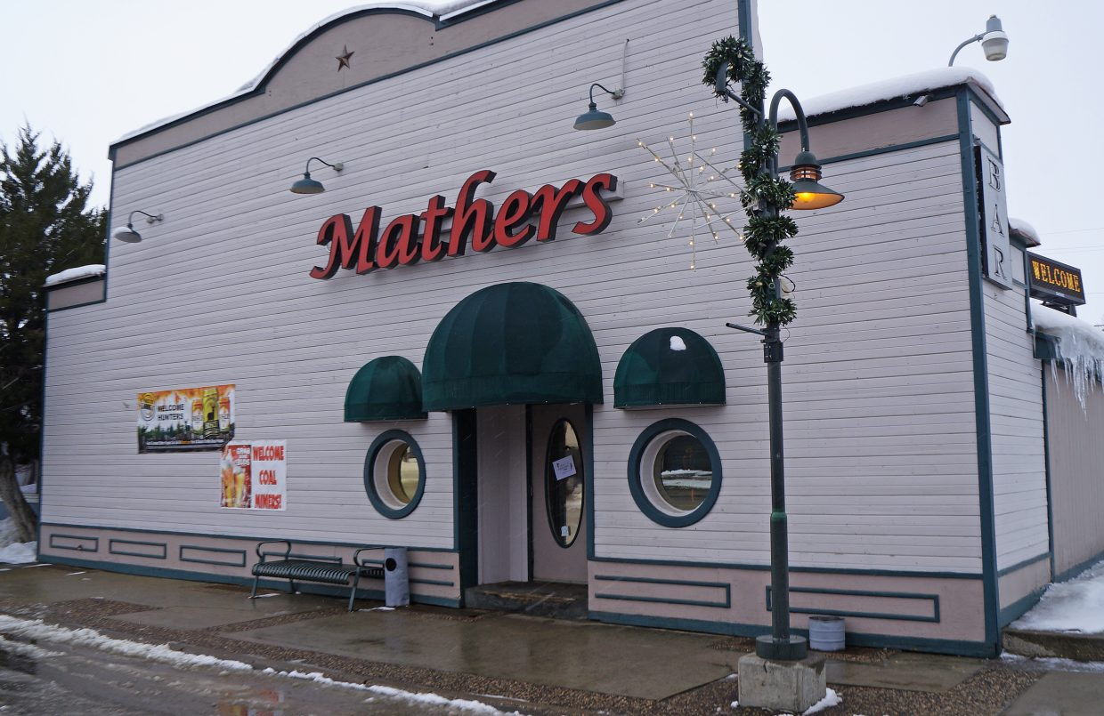 Mathers' Bar, 420 Yampa Ave., will be open to anyone and everyone on Christmas day for a free holiday meal.