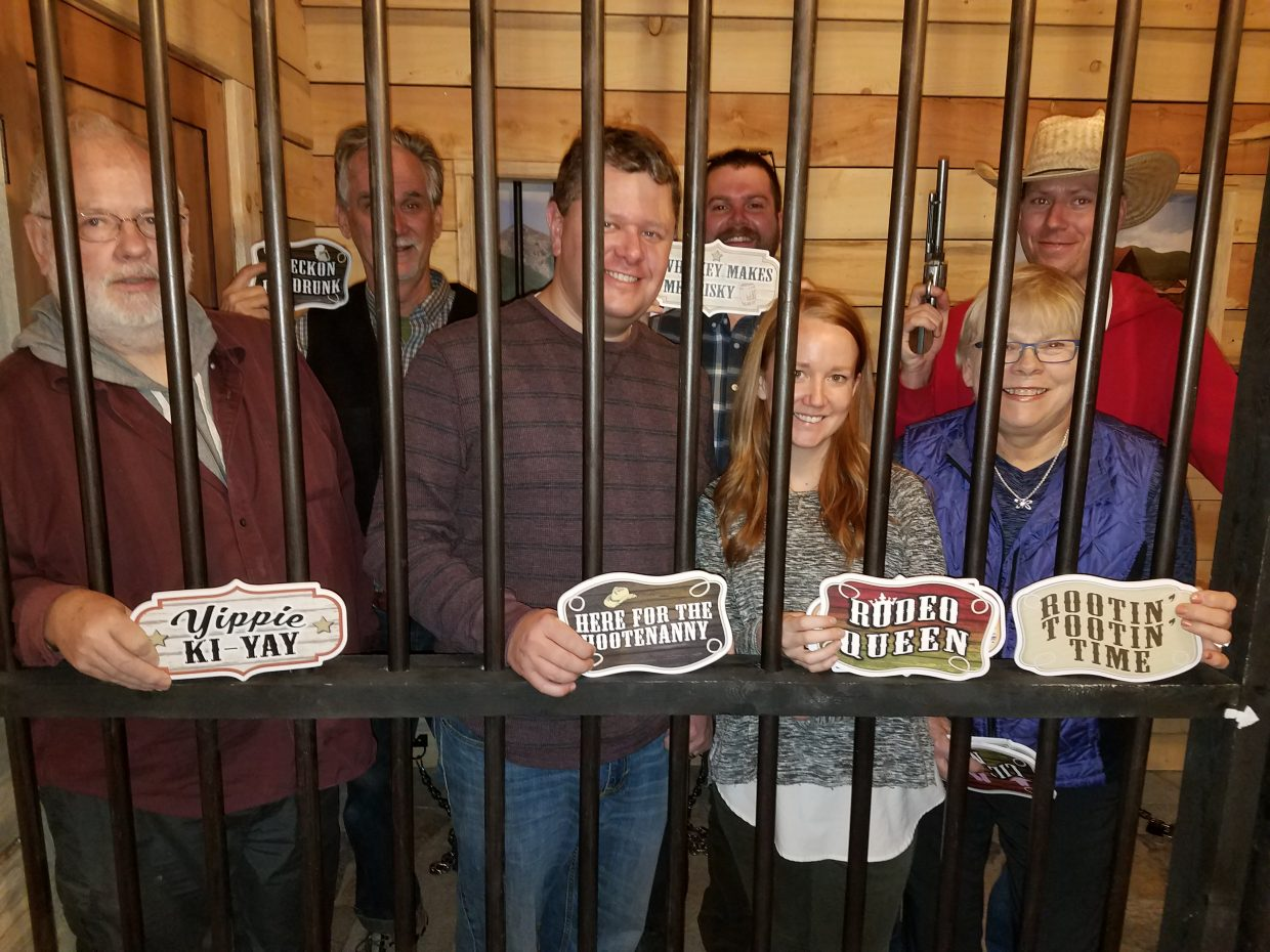 The Steamboat Today crew broke out of the Hahn's Peak Jail in less than an hour. Can you?