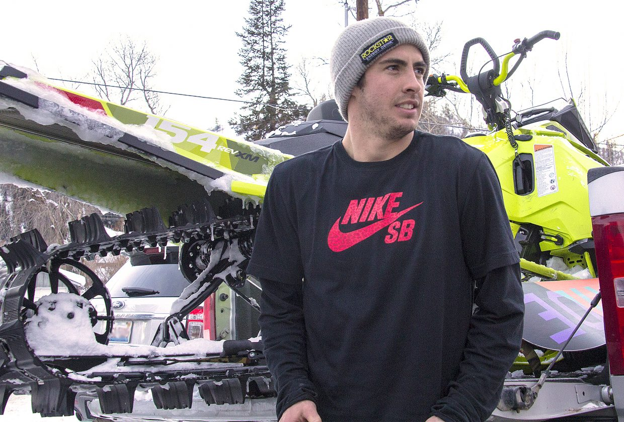 Matt Ladley placed sixth at this month's Dew Tour event in Breckenridge. He said the result was a big confidence boost. Still, competitions are only one aspect of the sport, and he's come to love them all.