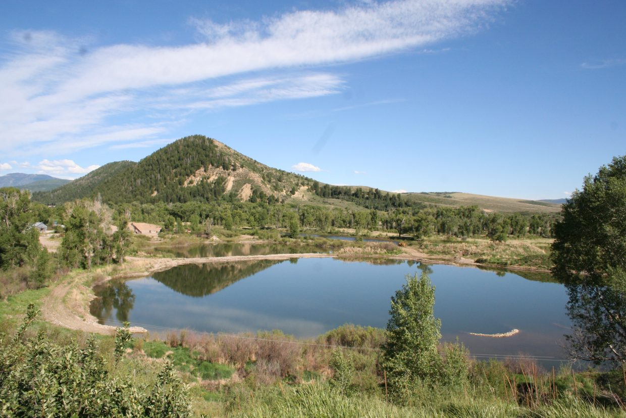 A 167-acre property home to a gravel mining operation west of Steamboat Springs sold earlier this month for $2.1 million to Bear River Land LLC.