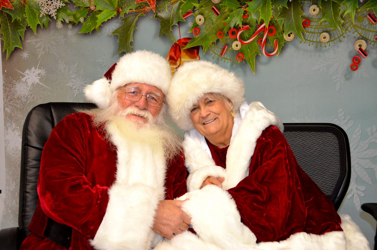 Santa and Mrs. Claus would like to wish everyone a very Merry Christmas and a Happy New Year!