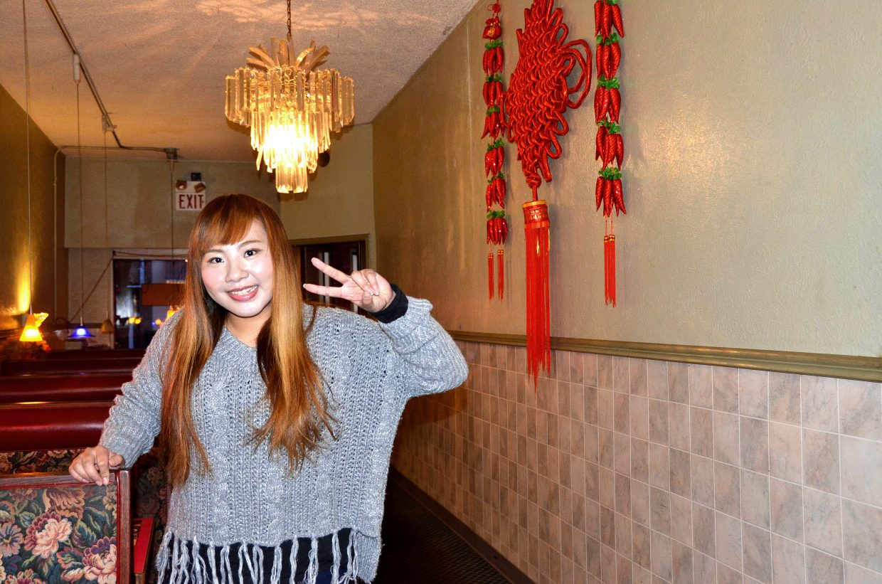 Jenny We, who works at the Galaxy Chinese restaurant in Craig, is saving money to go back to China to see her two young daughters. She's been in the United States for six years.