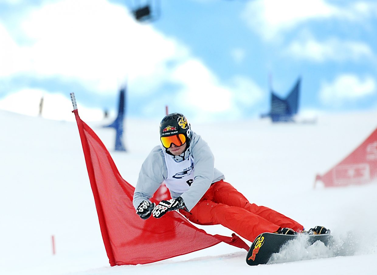 Justin Reiter competes last week at the Race to the Cup event at Howelsen Hill in Steamboat Springs. He'll learn next month whether or not he'll realize a lifelong dream and be named to the U.S. Olympic team.