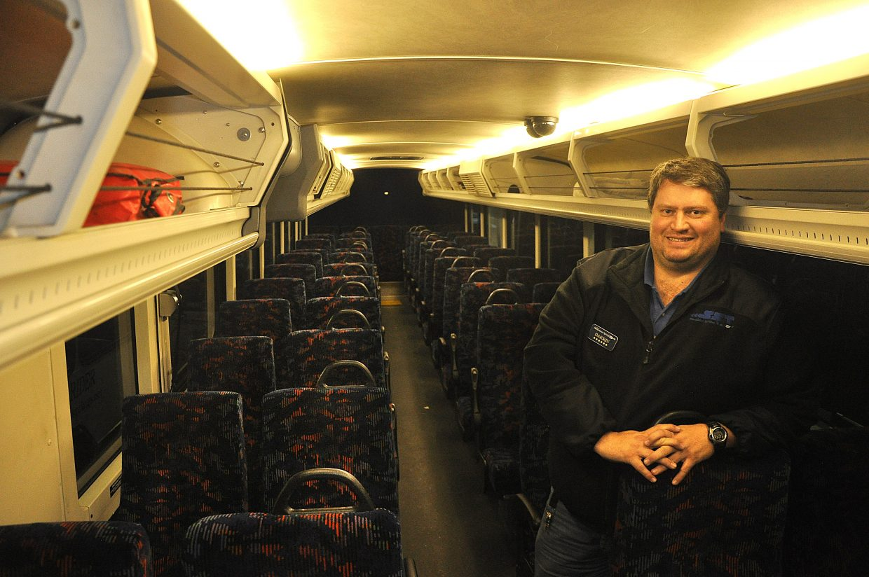 Steamboat Springs Transit driver Darrin Bevel has logged more than 27,000 hours behind the wheel of a bus with the transit agency.