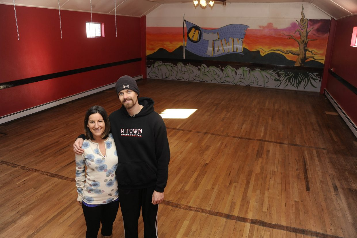 Ryan Lee and Alexis Rauso purchased the Hayden Masonic Temple earlier this month and are remodeling it to house the H Town Underground fitness center.