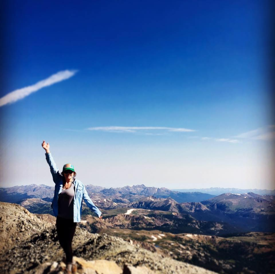Former arts and entertainment reporter Audrey Dwyer writes about hiking up to the summit of Mount Massive last Sunday.