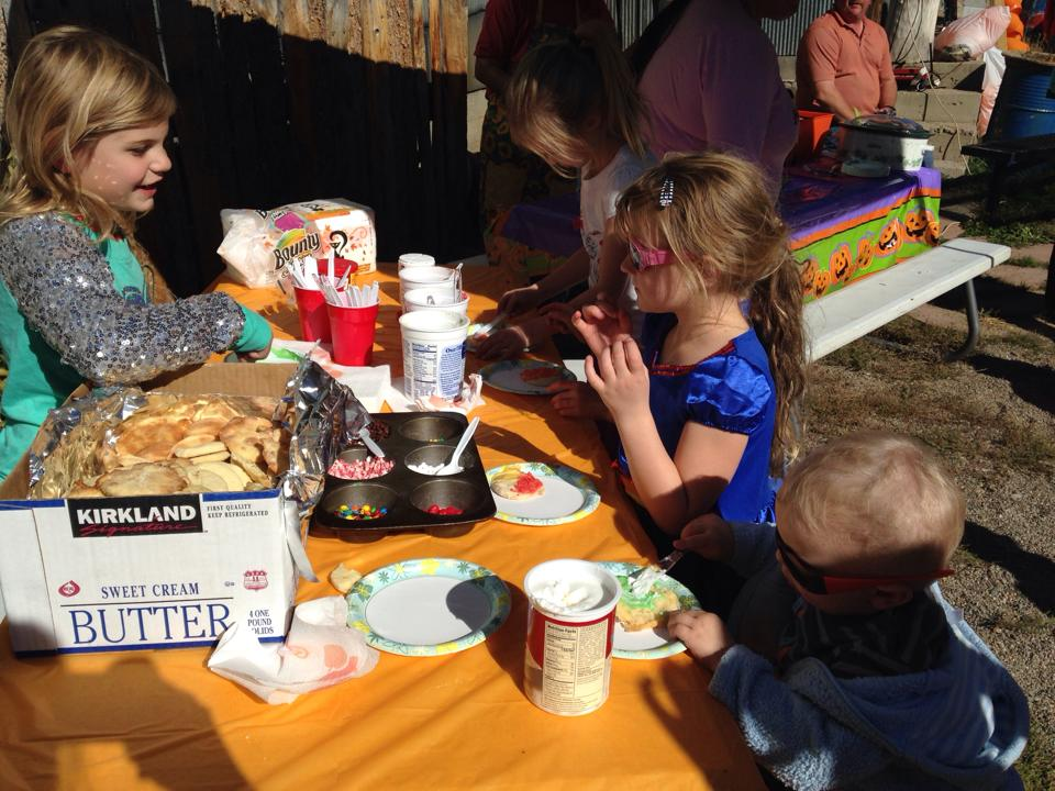 Kids participate in activities such as decorating cookies for the Hayden Harvest Festival. The event is from 2 to 4 p.m. Saturday.