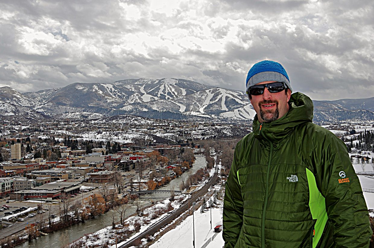 A shot of Steamboat from the west side of downtown Tuesday morning. Submitted by Matt Helm.