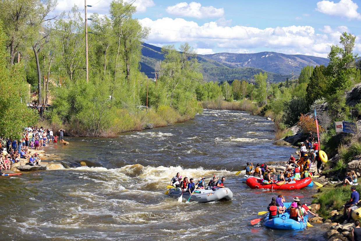 The 2015 Yampa River Festival in Steamboat Springs.