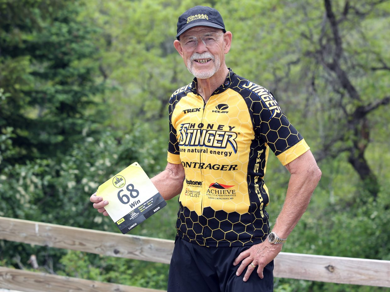 At 80, Steamboat Springs' Win Dermody will be the oldest competitor in Sunday's 34th annual Steamboat Marathon. He plans to powerwalk the full 26.2 miles from Hahn's Peak Village to downtown Steamboat.