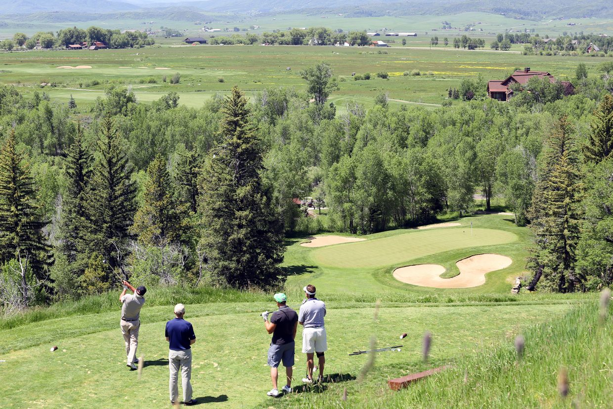 Images from the 18th annual Ski Town Golf Classic, played Saturday, June 13, 2015, at the Catamount Ranch and Club outside Steamboat Springs.