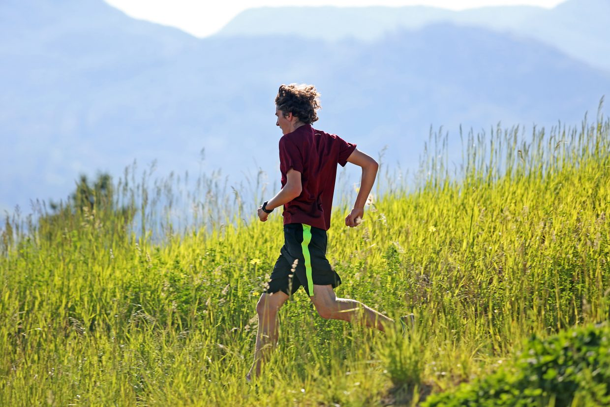 Wisconsin's Jacob Bransky won the 2015 four-mile race of the Howelsen Hill Trail Run. The event returns Saturday for its 11th running.
