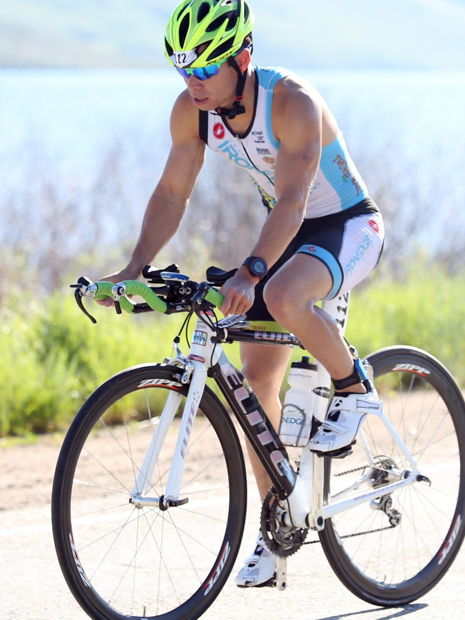 Tri the Boat triathlon on Saturday, June 27, 2015, at Stagecoach State Park.