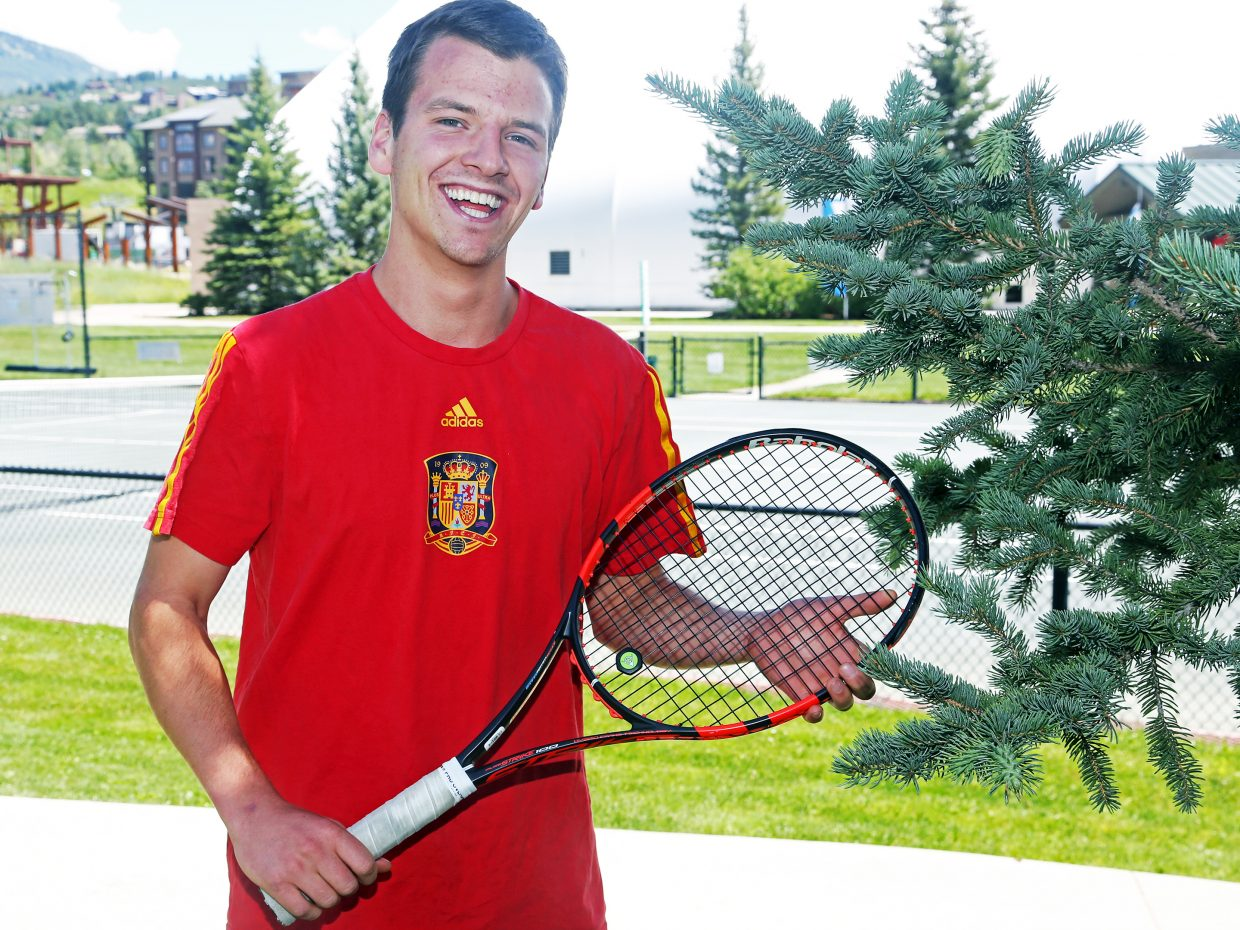 Jack Burger, a 2011 Steamboat Springs High School graduate, has been named the new boys' tennis coach at SSHS. His sister, Tatum, won a state title in tennis for the Sailors as a freshman in the spring.