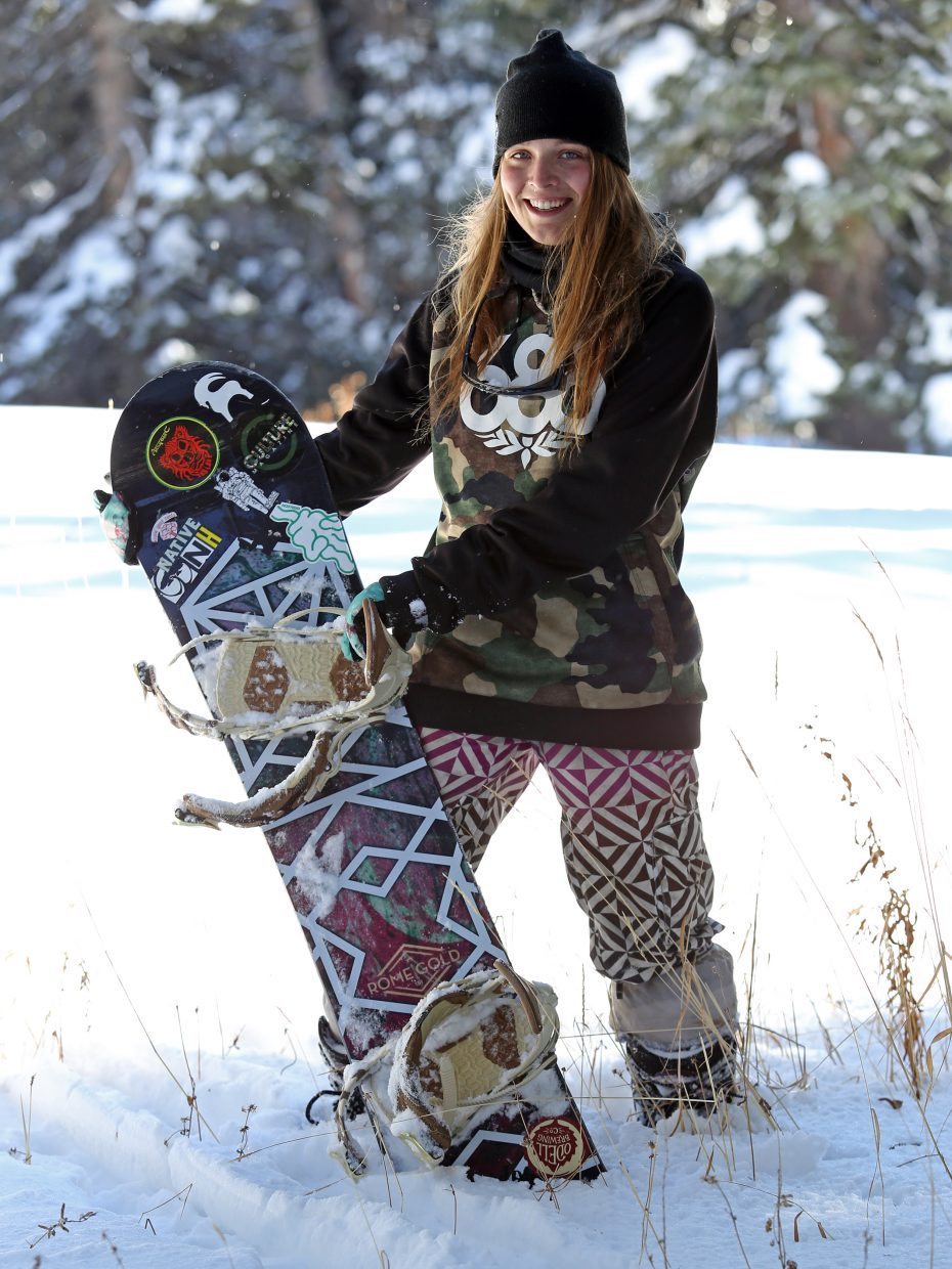 Steamboat Springs resident Kristina Edwards, a New Hampshire native, moved to Colorado for the snowboarding. Like many in the Yampa Valley, it's a lifestyle that defines everything she does.