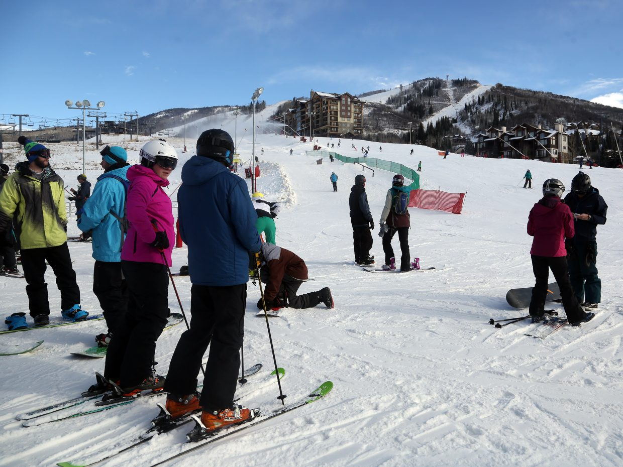 The Steamboat Ski Area opened early for the first time since 2002 on Saturday.