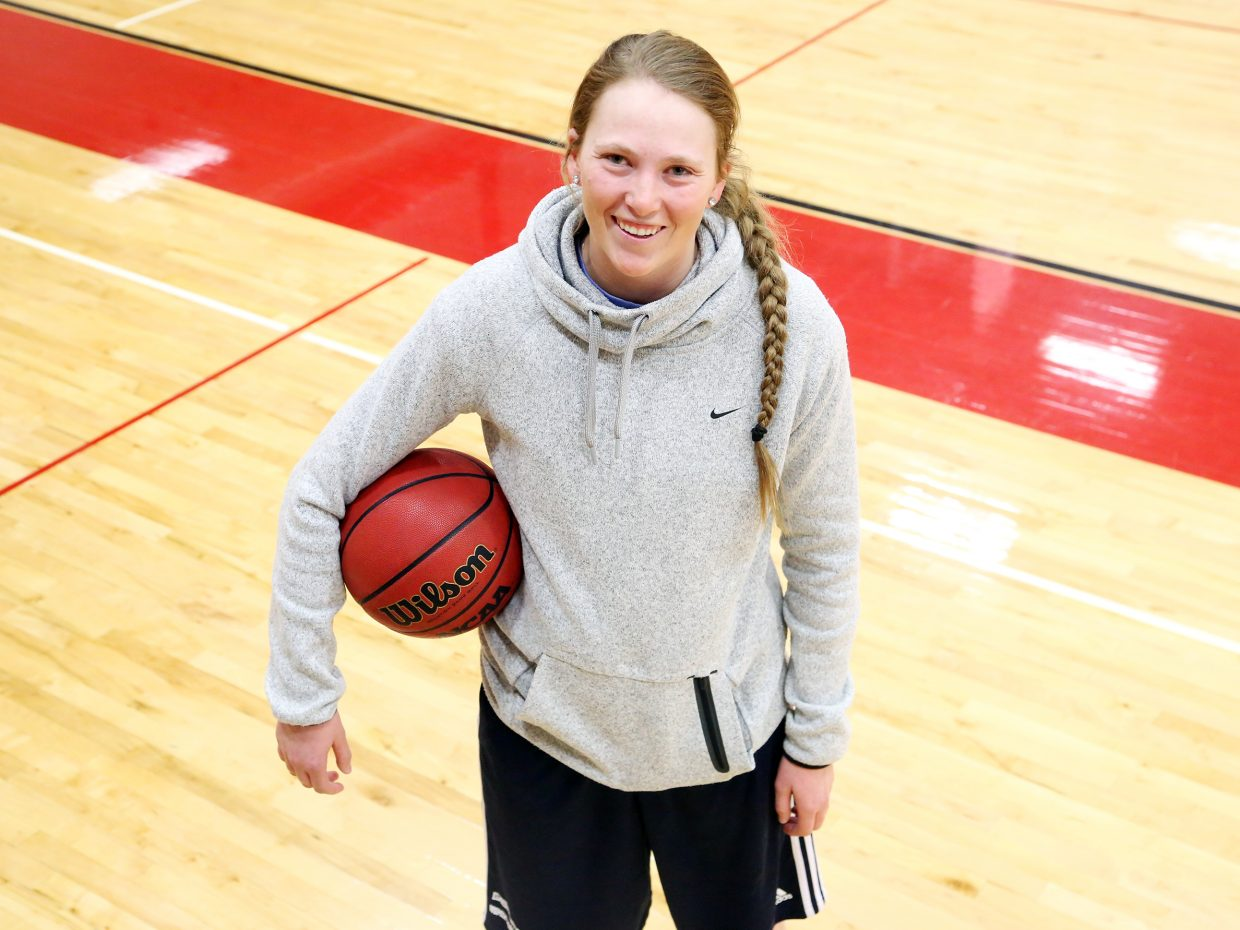 Maggie Crouch, a 2014 Steamboat Springs High School graduate, is back with the Sailors, serving as an assistant coach for the girls' basketball team. Crouch, 20, was recently the team's interim head coach while Mack Spitellie recovered from an illness.