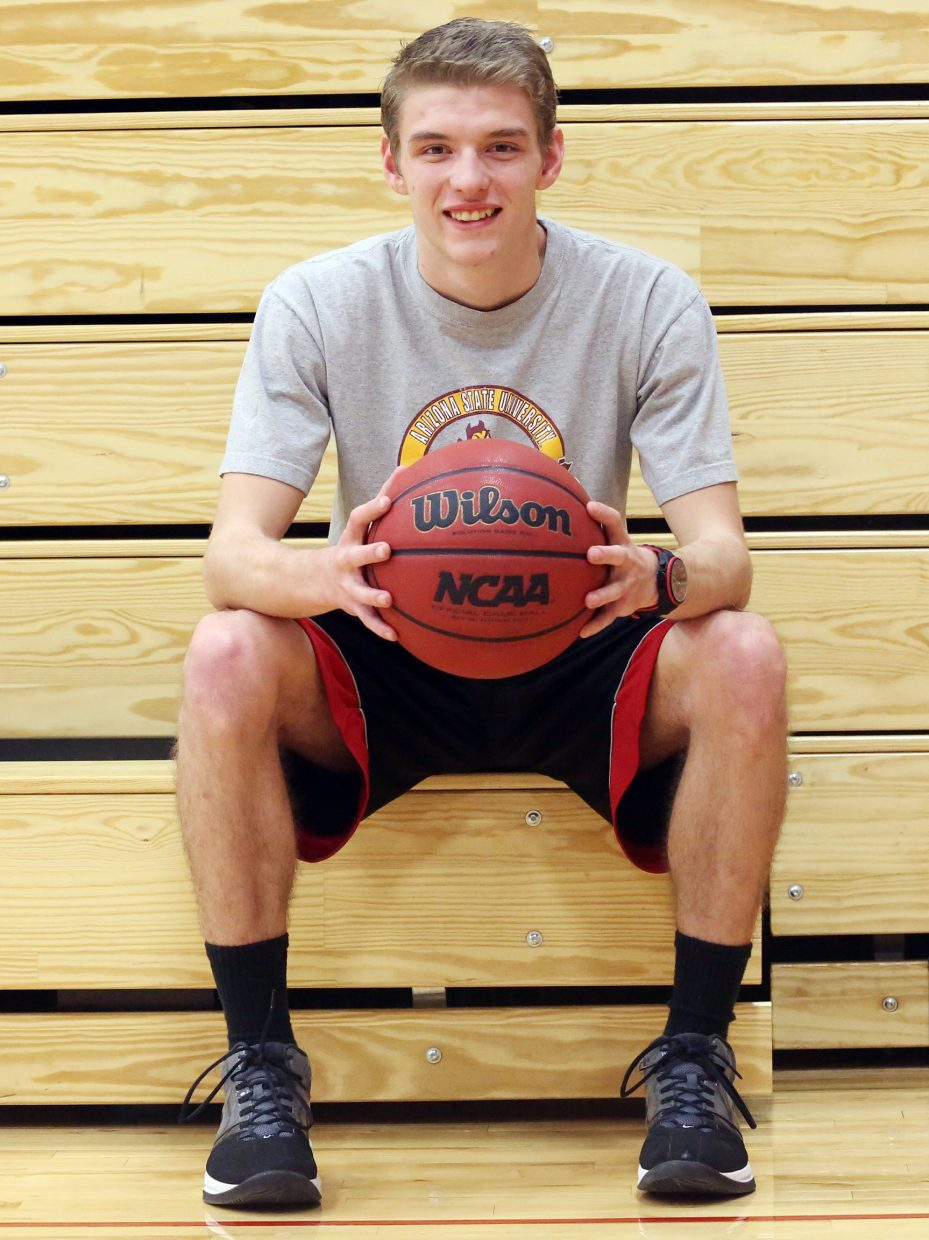 At 18, Matt Lanning is one of the many young faces on the Steamboat Springs High School basketball coaching staffs.