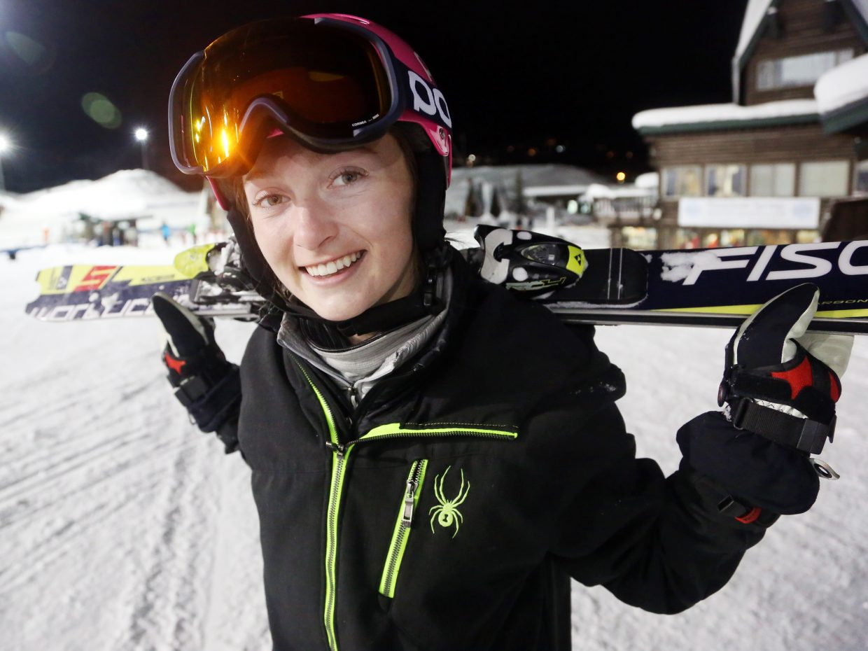 Steamboat Springs High School senior MacKenzie Gansmann has been stellar for the Sailors' Alpine ski team this season, winning both of her races so far. The longtime Steamboat Springs Winter Sports Club athlete is in her first season with the high school team.