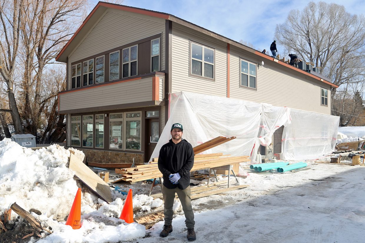 Anthony Franciosi, owner of Honest Marijuana in Oak Creek, hopes to have his new business operational by the end of the month. The building, located on Arthur Avenue, was built from scratch and placed on what was formerly only an empty lot.