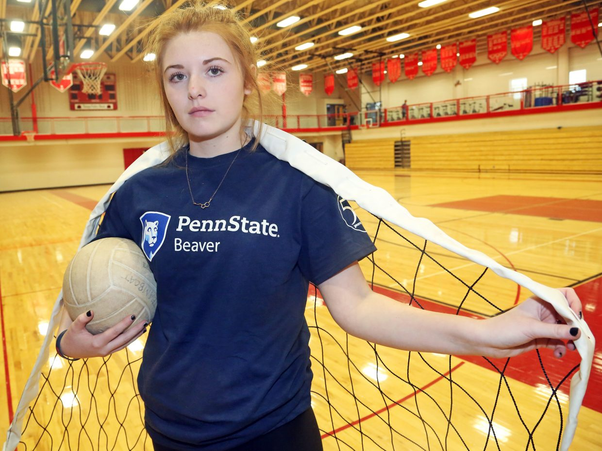 Steamboat Springs High School senior Hayley Johnson has committed to play volleyball for one of Penn State University's satellite campuses.