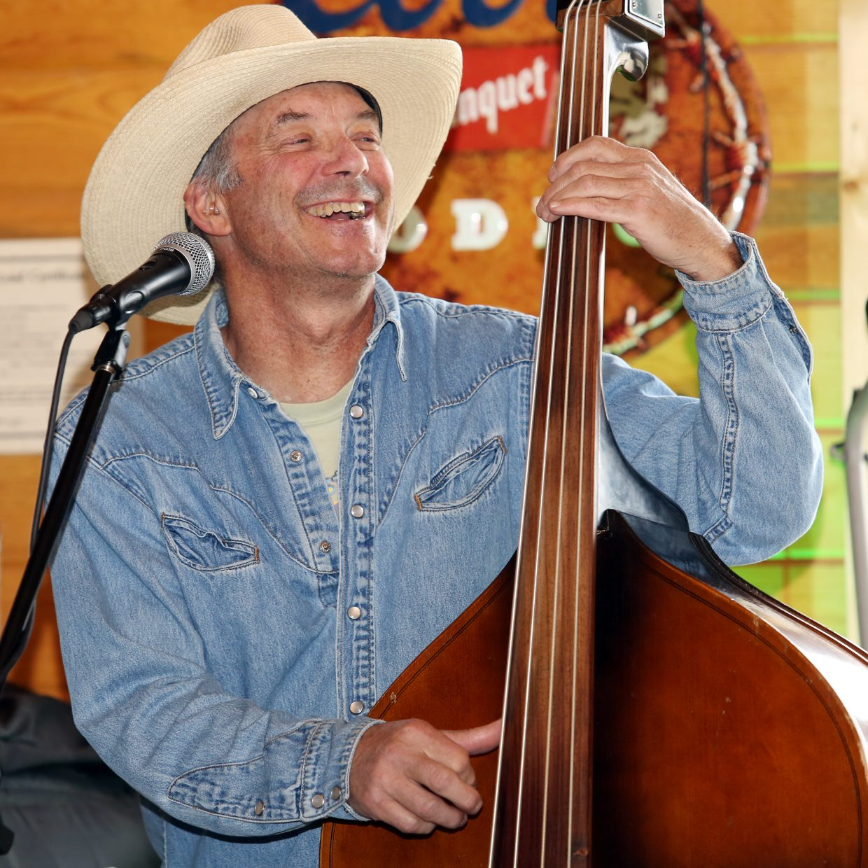 Bob Shaffer of the band 3Wire performs Sunday during the North Routt Chili Cook Off at Hahn's Peak Roadhouse.