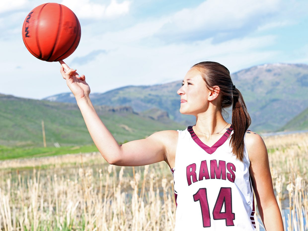 Soroco High School senior Briana Peterson is the 2015-16 Routt County high school female athlete of the year.