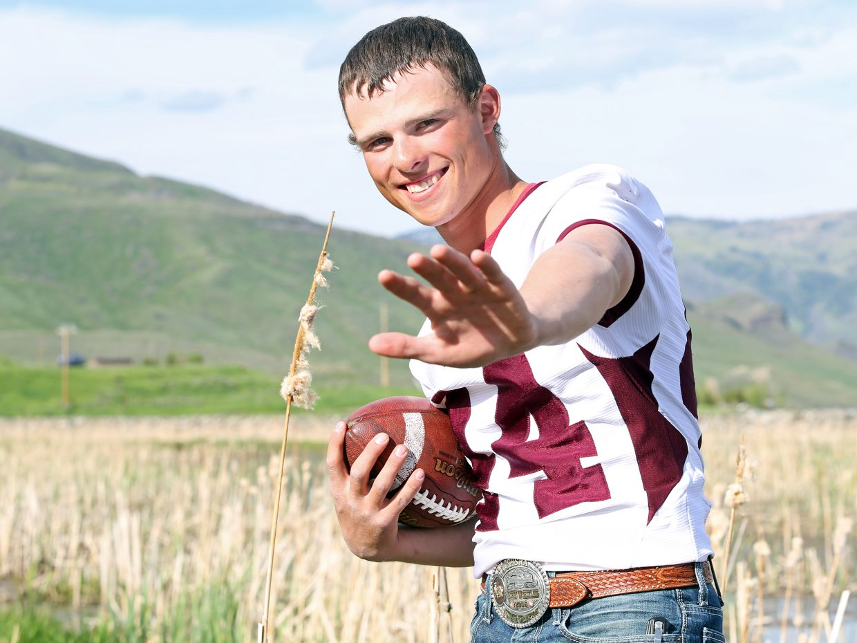 Soroco High School senior Eric Logan is the 2015-16 Routt County high school male athlete of the year.