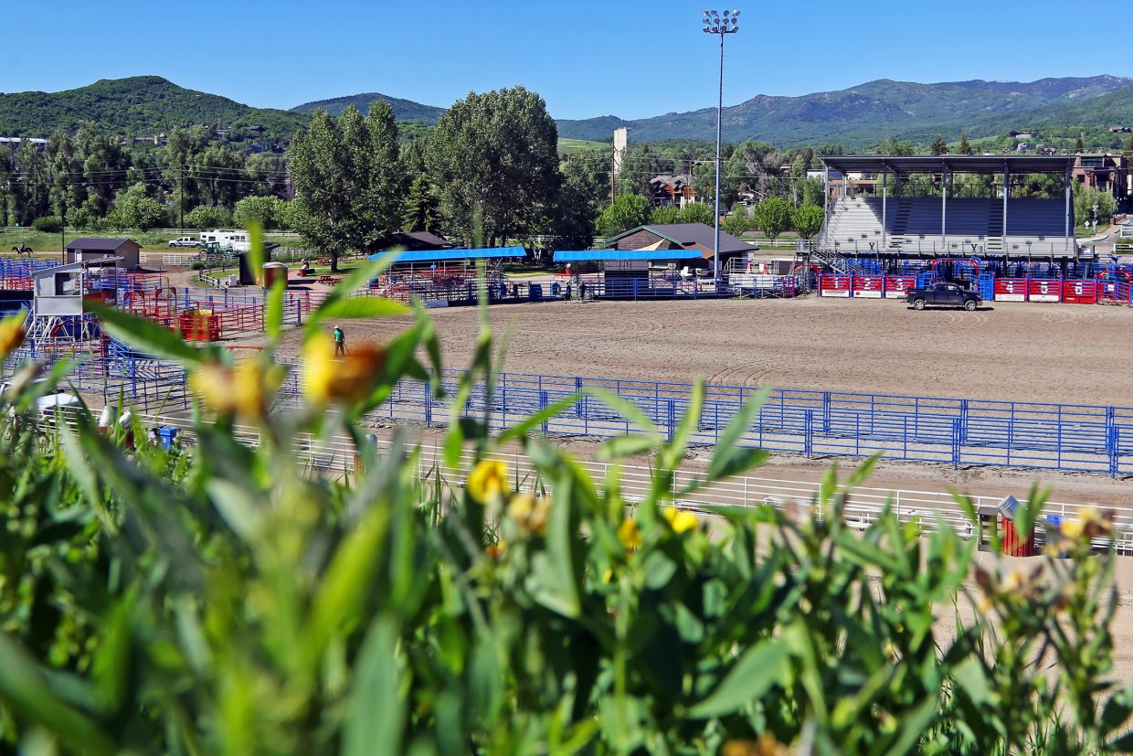 The Brent Romick Rodeo Arena in Steamboat Springs received a handful of upgrades this year. The summer pro rodeo series is scheduled to get underway Friday night.
