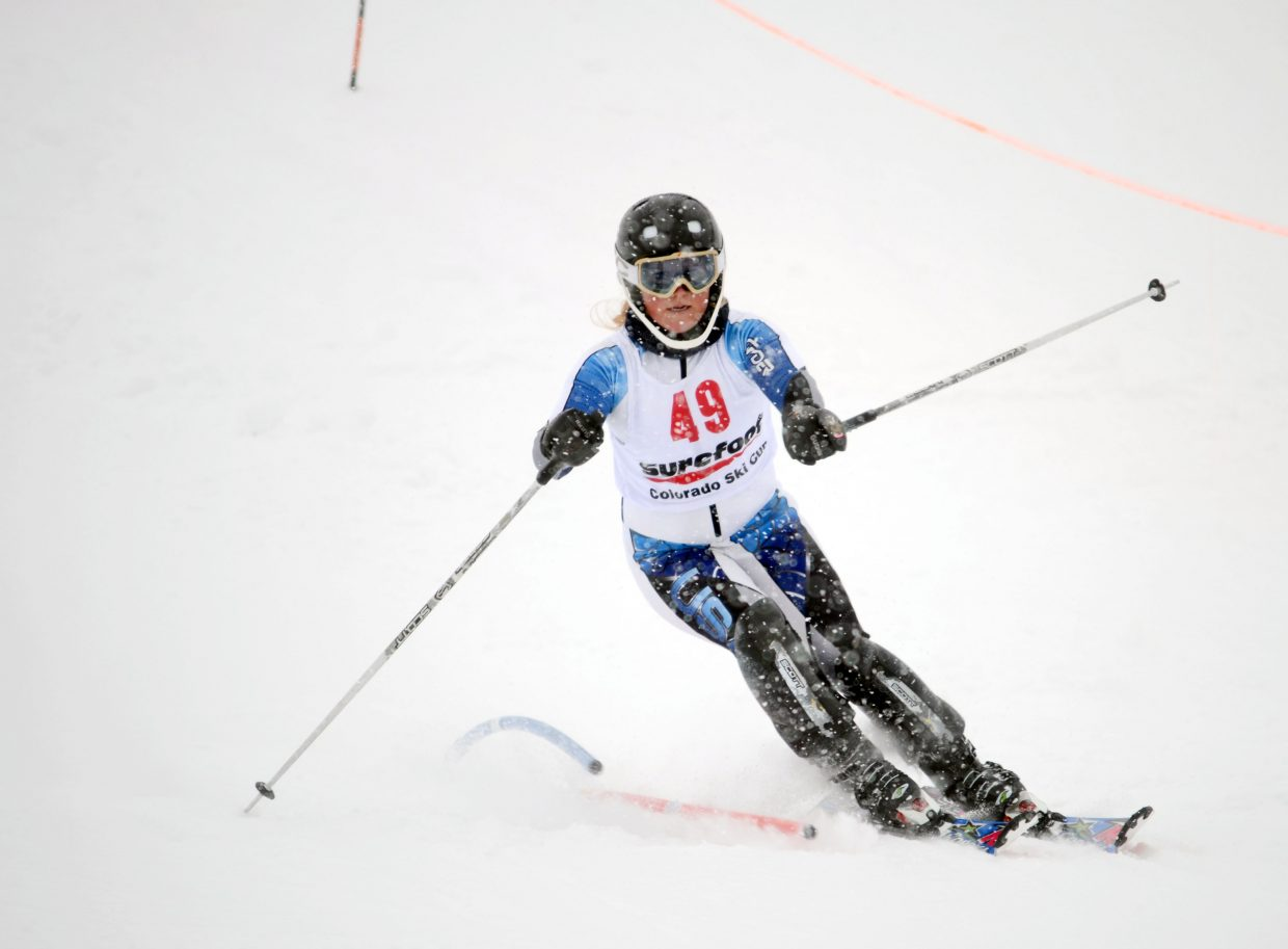 A day after shocking the field en route to a 14th-place finish, Steamboat Springs Winter Sports Club's Ellese Lupori struggled in Sunday's finale, recording a did not finish in Run Two.