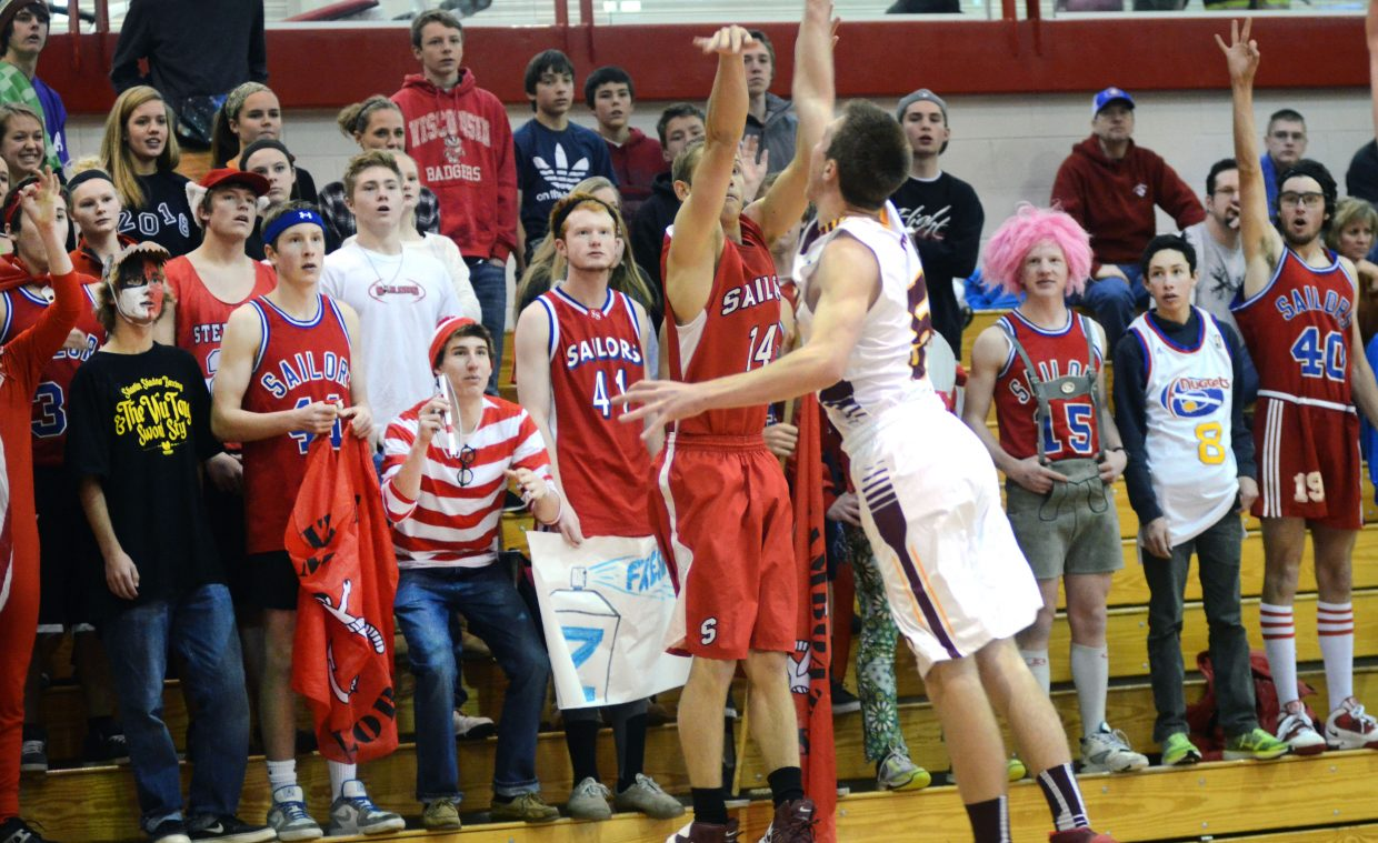 Steamboat boys coach Luke DeWolfe said home-court advantage could be huge Wednesday when his Sailors host Sierra in the state playoffs.