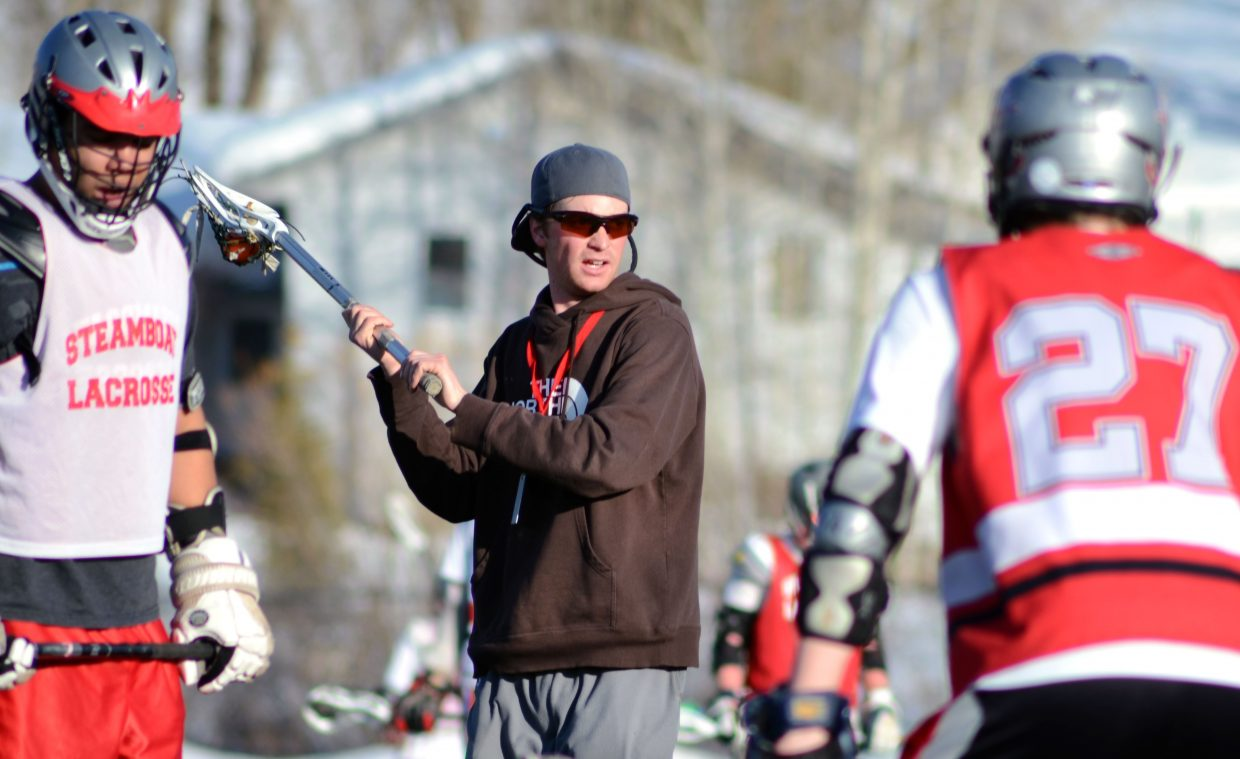 New Steamboat Springs High School boys lacrosse coach Jay Lattimore is hoping a collective team effort will propel his Sailors into the state championship in May.