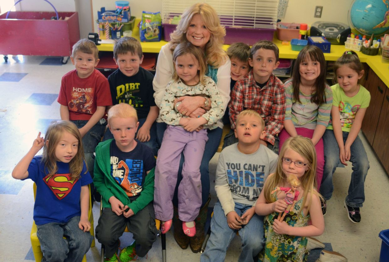 "It's the kids — and their families — that retiring South Routt Elementary School kindergarten teacher Peggy Barnes said she'll miss the most. After 36 years, Barnes is waving goodbye to her cluttered classroom and looking forward to some ""me time,"" she says."
